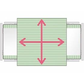 SatinSheet treklaken - Midi 4D - Glijlaken