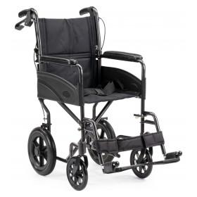 Compact Lite Lichtgewicht transport rolstoel