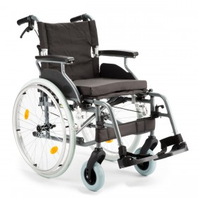 Aluminium, zeer luxe, rolstoel