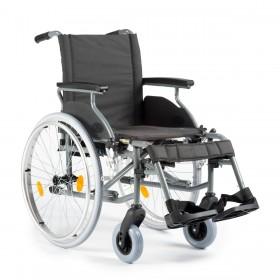 Lichtgewicht aluminium rolstoel in hoogte verstelbaar
