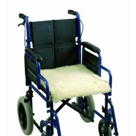 Schapenvacht voor rolstoel en scootmobiel - zitting