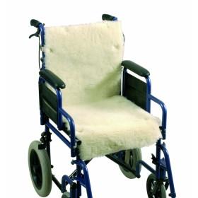 Schapenvacht voor rolstoel...