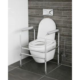 Toiletframe - in hoogte...