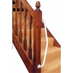Beugel voor trapleuning - linkshandig
