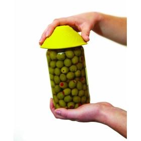 Anti-slip potopener - geel