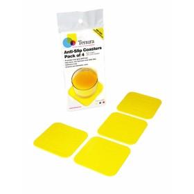 Anti-slip onderzetters - geel