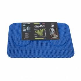 Anti-slip placemat en onderzetter set - licht blauw