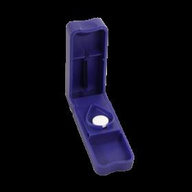 Pillensplijter blauw
