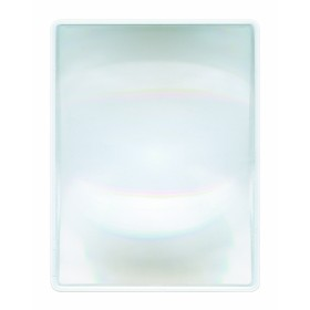Vergrootglas plat - hard