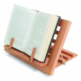 Houten boekbutler