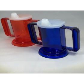 Handycup set van 2 - Blauw en rood