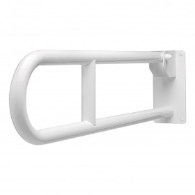 SecuCare Toiletbeugel, Wit, opklapbaar, lengte 800 mm