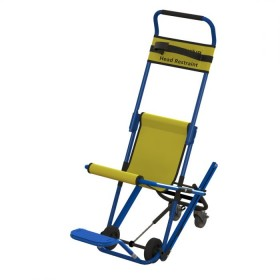 Evac-chair MK4 ook leverbaar met voetensteun